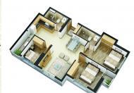 Bán căn hộ Phùng Hưng, Hà Đông, 3 phòng ngủ, giá 1,6 tỷ