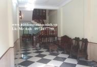 Cho thuê nhà 3 tầng 5 phòng khép kín đường Đấu Mã, TP.Bắc Ninh