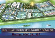 Đất cụm công nghiệp mới Hậu Lộc Thanh Hóa 19 ha giá từ 1.2 – 2.5tr/m2, diện tích 500 – 20000m2