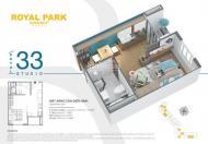 Tặng ngay 1 cây vàng SJC 9999 khi mua căn hộ Diamond tại dự án Royal Park Bắc Ninh giá chỉ 869 tr