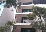 Cho thuê nhà phân lô Nguyễn Khánh Toàn, 75 m2 x 6 tầng, nhà có thang máy, mỗi tầng 1 phòng rộng