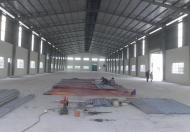 Cho thuê nhà xưởng 1200m giá rẻ xã Đạo Đức, Vĩnh Phúc cách KCN Bình Xuyên 1km
