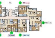 Cần bán chung cư Xuân Phương Trung Ương Đảng, tầng 1004, DT 95.9m2, giá bán 18.5 tr/m2