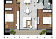 Căn hộ cho thuê giá 16.8 tr/th, lầu 28 căn số 1 của dự án Thảo Điền Pearl Quận 2. 0934 035 394