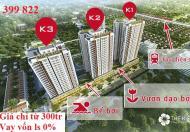 Bán suất ngoại giao căn hộ 3 phòng ngủ, chung cư The K Park, Văn Phú, Hà Đông
