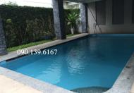 Chính chủ cho thuê biệt thự 4 phòng ở Thảo Điền, hồ bơi, giá 67.2 triệu/tháng