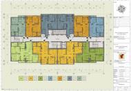 Bán căn hộ chung cư Hồng Hà Tower, DT 56 - 82m2, giá chỉ từ 19tr/m2, cách bến xe Giáp Bát 600m