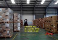 Cho thuê kho xưởng diện tích đa dạng trong KCN Sóng Thần (Bình Dương)
