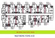 Cho thuê chung cư Sapphire Palace số 4 Chính Kinh, 83,5m2- 2 phòng ngủ