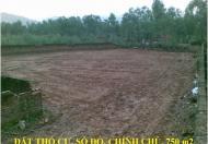 Bán đất thổ cư 750m2 khu du lịch Đại Lải, giá 1,5tr/m2