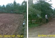 Bán đất thổ cư 750m2 khu du lịch Đại Lải, giá: 1,5tr/m2