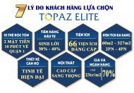 Thanh toán 1-2%(15 triệu)/tháng, sở hữu căn hộ 60m2, 2PN, 2WC Topaz Elite, Q8. LH: 0902558772