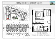 Chung cư B1.3 Hh03 Thanh Hà Cienco 5 mở bán giá chỉ 11 triệu/m2.