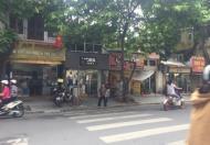 Cho thuê nhà mặt phố Nhà Chung quận Hoàn Kiếm.MT 6m.