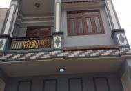 Nhà mới đẹp 1 trệt, 1 lửng, 1 lầu, ở hẻm 1 sẹc Đất Mới, P. Bình Trị Đông