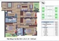 Bán căn CH - 1B đẹp nhất toà nhà, tầng 17 căn hộ CT4 Vimeco