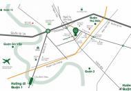 Chung cư Đạt Gia Residence 4 mặt tiền liền kề Phạm Văn Đồng, quận Thủ Đức, 56m2, 2PN, 2WC