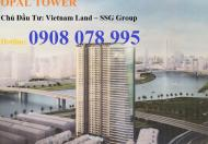 Bán CH Opal Saigon Pearl DT 157,8m2, tầng cao, view đẹp nhất, giá 7,2 tỷ