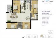 Bán gấp căn hộ ở Thăng Long Number One, Viglacera