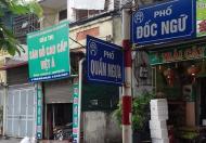 Bán nhà mặt phố tại đường Đốc Ngữ, Ba Đình, Hà Nội, diện tích 63m2, giá 9.1 tỷ