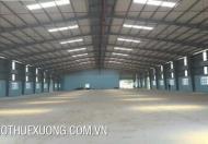 Cho thuê xưởng trong KCN Tây Bắc Ga, TP Thanh Hóa, DT 1900m2