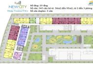 Cần bán căn hộ cao cấp New City mặt tiền Mai Chí Thọ, Q2
