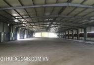 Cho thuê xưởng tại KCN Song Khê, Bắc Giang, DT 4005m2