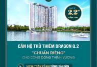Bán căn hộ quận 2, giá 1.5 tỷ, 3 mặt view sông liền kề Đảo Kim Cương