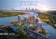 Bán căn hộ dual key - 2 chìa khóa, 142m2, tháp Bora Bora, view sông SG, cầu Phú Mỹ, 45 tr/m2 (VAT)