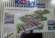 Mở bán đất khu đô thị Kosy gần Gia Sàng, TP Thái Nguyên