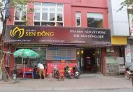 Nhượng lại nhà hàng hải sản mặt phố Quan Hoa 150 m2 x 6 tầng