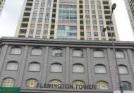 Cần cho thuê gấp căn hộ The Flemington – Lê Đại Hành, DT 86m2, giá thuê 18tr/th