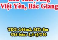 Bán 02 lô đất tại khu Tam Tầng, Việt Yên, Bắc Giang, liên hệ: 01692101429