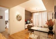 Cho thuê CHCC Vinhomes tầng 18, 127m2, 3 phòng ngủ, đầy đủ đồ, 27tr/tháng