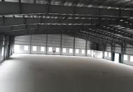Cho thuê nhà xưởng khu CN Song Khê - Nội Hoàng, Bắc Giang 4000m2 mới đẹp