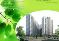 Bán căn hộ chung cư Xuân Mai Complex 62.25m2, giá 17tr/m2, full nội thất,LS 0%