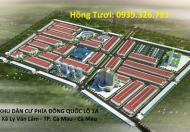 Bán đất nền khu đô thị Sao Mai Nhựt Hồng, TP. Cà Mau, LH: 0939326793