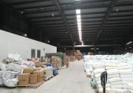 Cho thuê kho, xưởng mới xây 3000m2, có thể chia nhỏ từ 300 - 1000m2 tại Trần Xuân Soạn, Q. 7