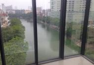 Cho thuê tòa nhà văn phòng 9 tầng,115m2 tại mặt phố Chùa Láng, 7.2m mặt tiền. LH 0984.875.704