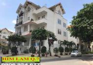 Bán nhà biệt thự mặt tiền, căn góc 200m2 KDC Him Lam, sổ hồng rồi, đang có hợp đồng thuê 55tr/th