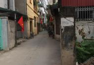 Bán đất Thanh Liệt, Thanh Trì 75m2, 2 mặt thoáng, có thể chia 2, ngõ thông rộng ô tô đỗ cửa