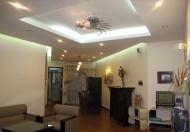 Cho thuê căn hộ N04 Udic Hoàng Đạo Thúy tòa B căn góc DT 134m2, 3 PN, full NT đẹp giá 20 tr/tháng
