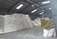 Cho thuê kho chứa hàng mới từ 800m đến 1500m trục đường 5 cũ, gần cảng