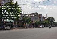 Cho thuê nhà 4 tầng mặt tiền đường Thiên Đức, Vệ An, TP.Bắc Ninh