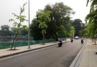Chính chủ cần bán nhà mặt phố Nguyễn Hoàng Tôn, lô góc gần Võ Chí Công, DT 110m2, MT 7,5m