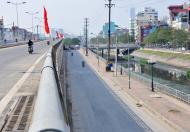 Mặt Đường Bưởi, giao cắt ngã tư Đào Tấn - Nguyễn Khánh Toàn