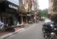 Nhà 5 tầng, DT 40m2, Huỳnh Thúc Kháng, quận  Đống Đa, ô tô tránh, hè 2 bên, giá thuê cao.
