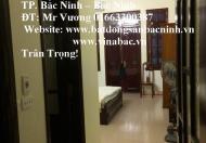 Cho thuê nhà 4 tầng, 4 phòng ngủ khép kín Nguyễn Văn Cừ, TP.Bắc Ninh