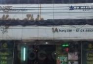 Cho thuê nhà mặt phố Trung Liệt , mặt tiền 6m , 2 tầng 200m2 , tầng 3 2 PN + sân phơi