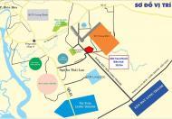 Đất nền Tam Phước gần sân bay Long Thành, giá 4,8tr/m2, thổ cư 100%, LH: 0938828680